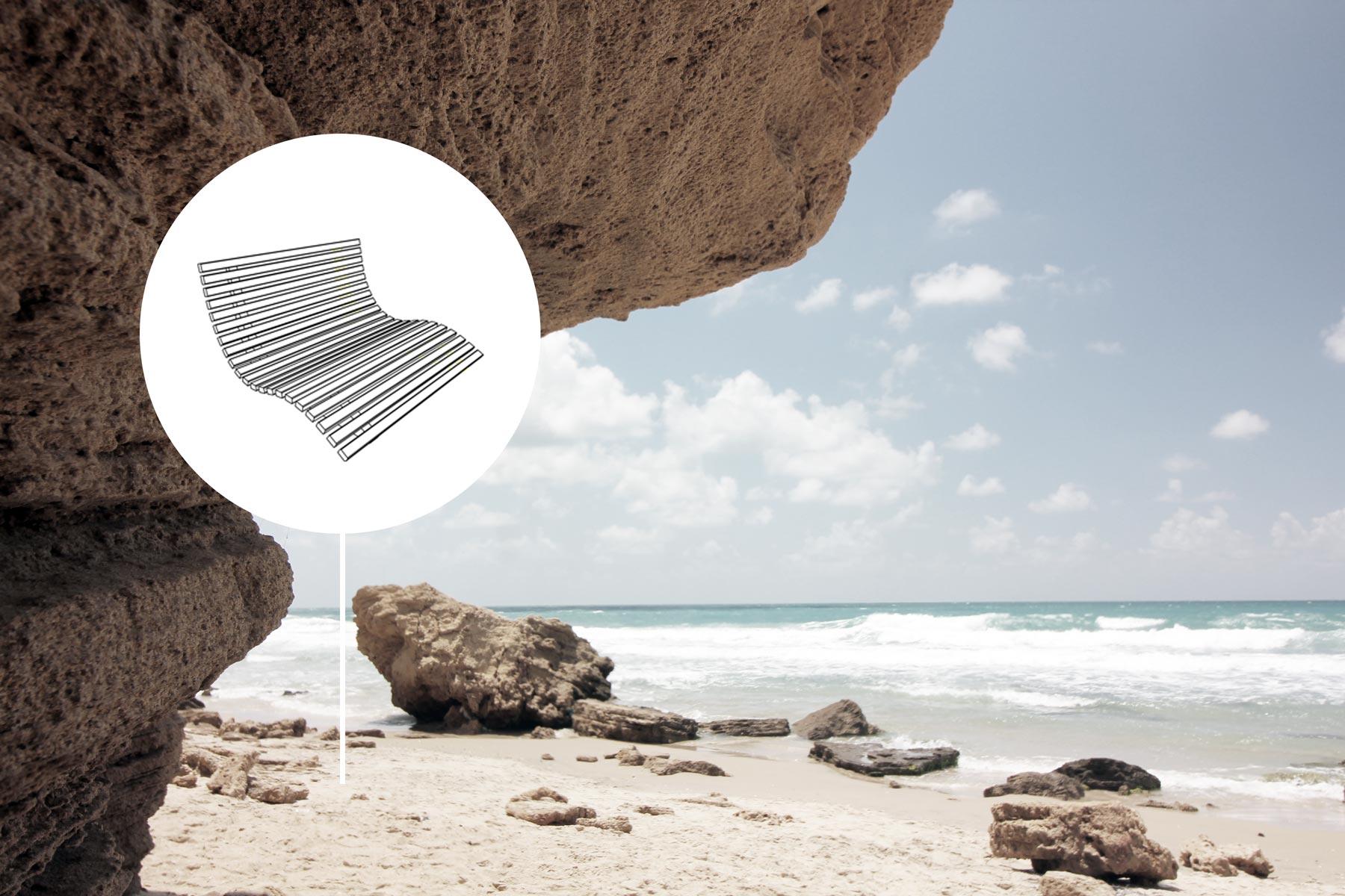 strandliege-seeliege-meerliege-hangsofa-liegewelle-schraubfundamente-erdschrauben-designliege