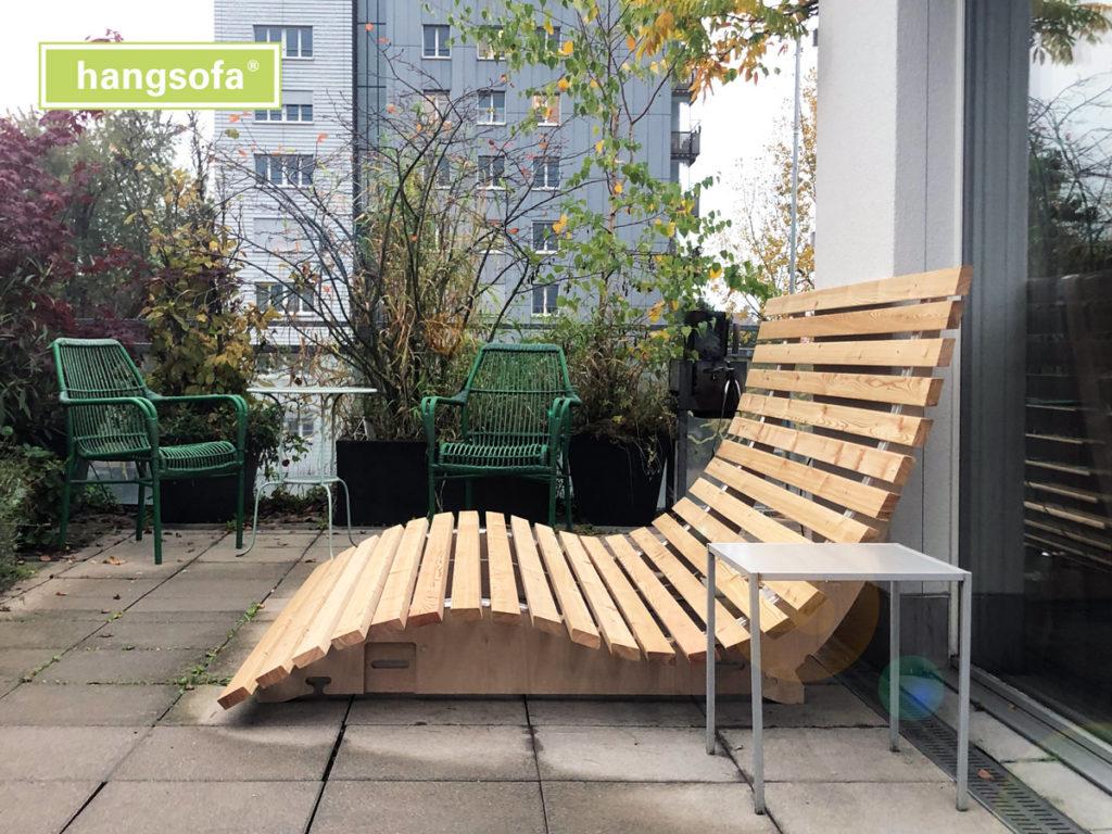 Relaxliege aus Holz Hotel