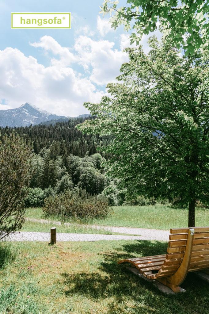 Gartenanlage Kempinski Hotel Berchtesgaden
